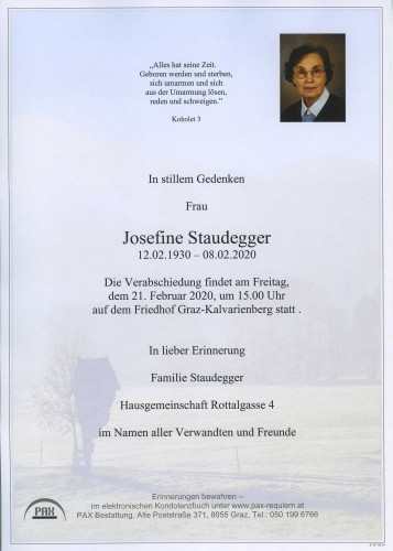 Josefine Staudegger
