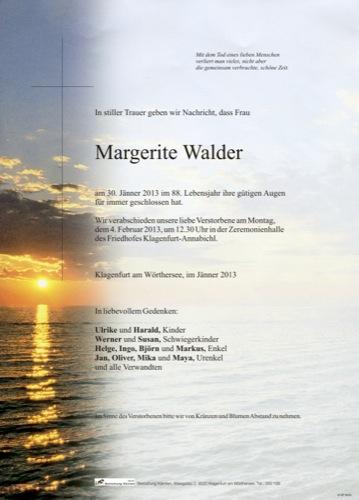 WALDER Margerite