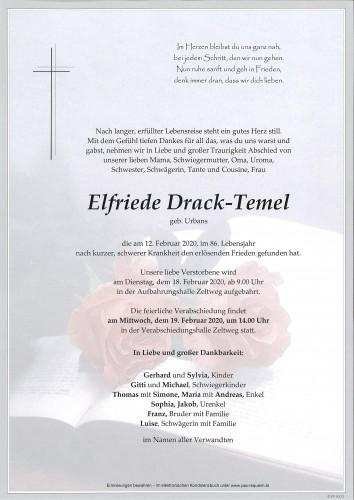 Elfriede Drack-Temel