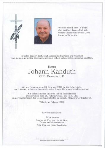Johann Kanduth