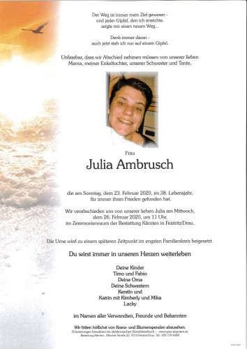 Julia Ambrusch