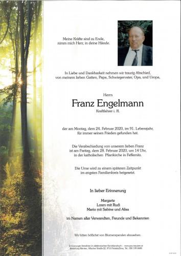 Franz Engelmann