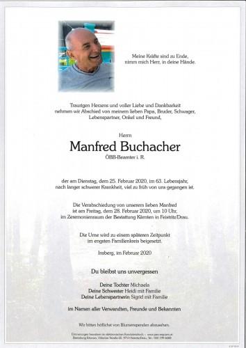 Manfred Buchacher