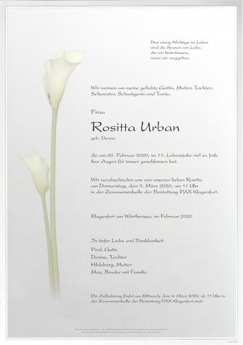 Rositta Urban
