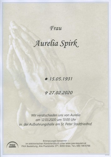 Aurelia Spirk