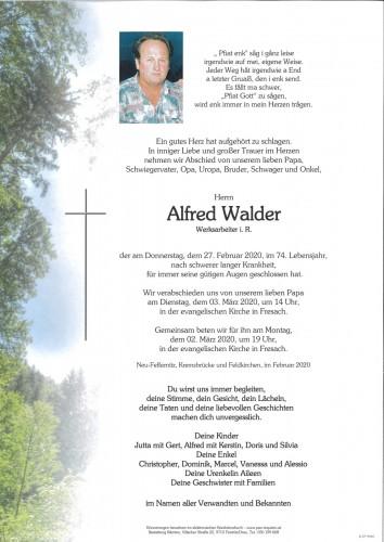 Alfred Walder
