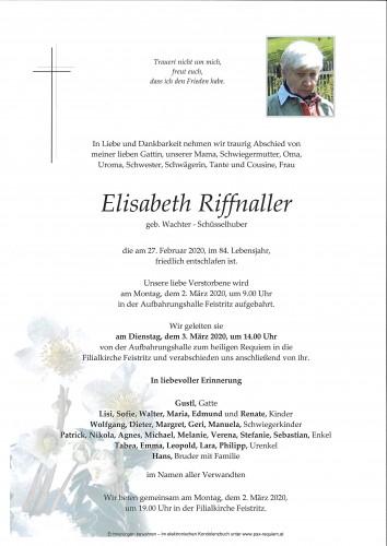 Elisabeth Riffnaller