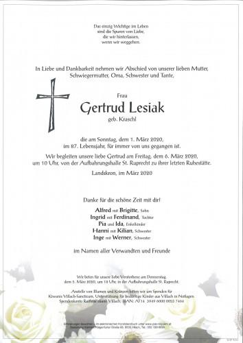 Gertrud Lesiak