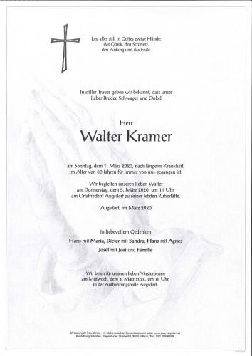 Walter Kramer