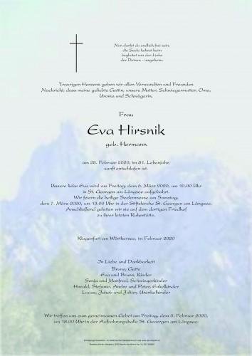 Eva Hirsnik