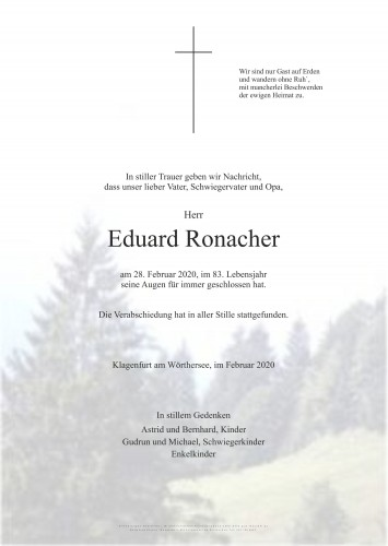 Eduard Ronacher