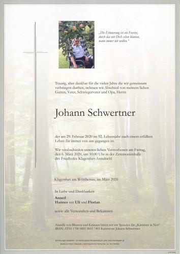 Johann Schwertner