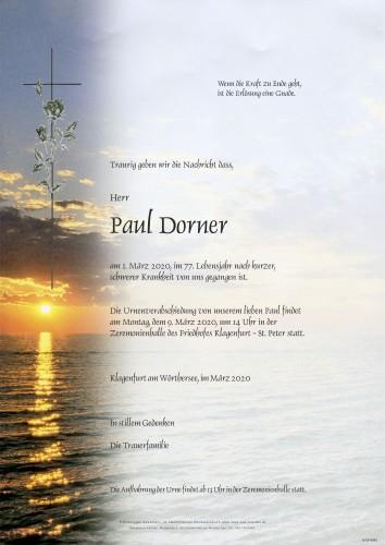 Paul Dorner