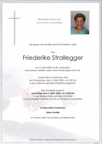 Friederike Strallegger