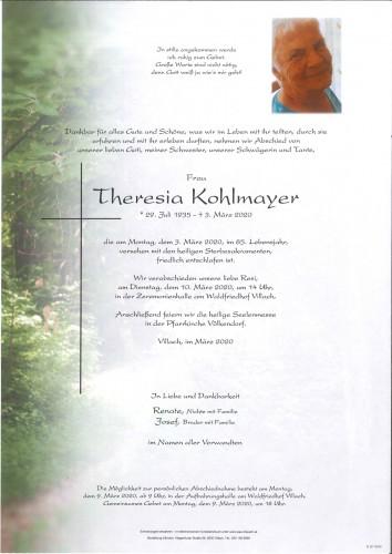 Theresia Kohlmayer