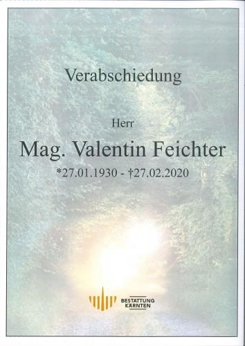 Mag. Valentin Feichter
