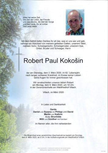 Robert Paul Kokosin