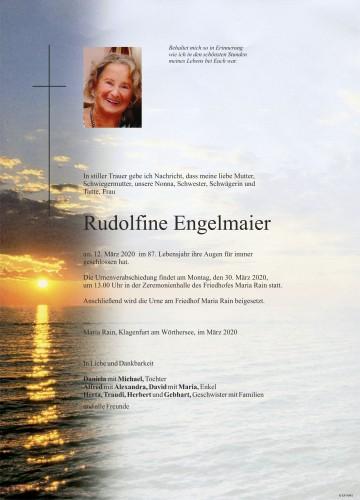 Rudolfine Engelmaier