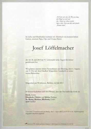 Josef Löffelmacher