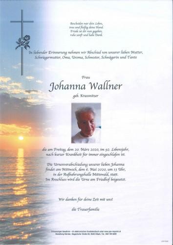 Johanna Wallner