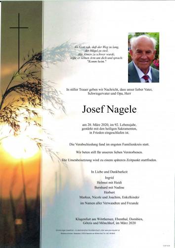 Josef Nagele
