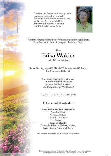 Erika Walder geb. Tidl, vlg. Müllner