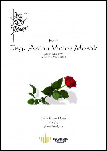 Ing. Anton Victor Morak