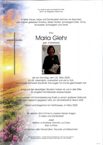 Maria Glehr