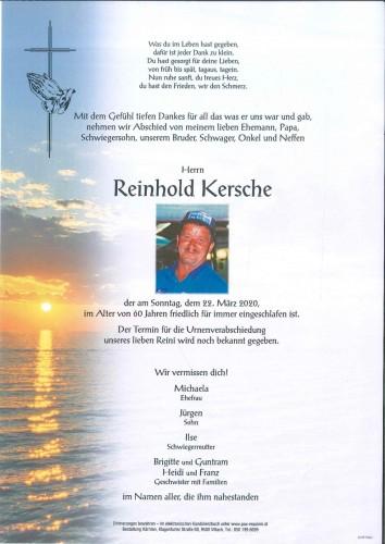 Reinhold Kersche