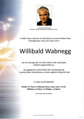 Willibald Wabnegg