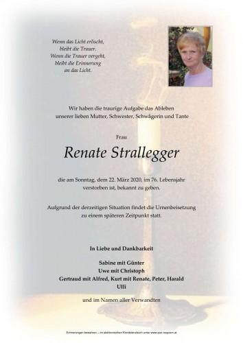 Renate Strallegger