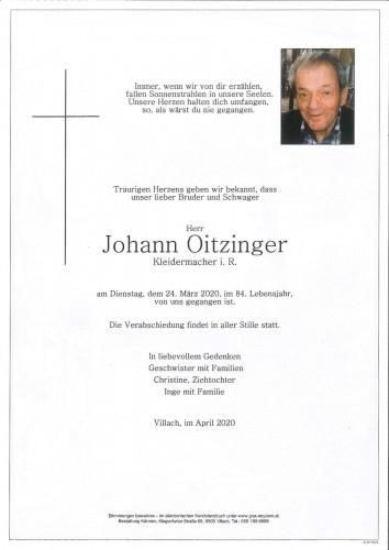 Johann Oitzinger