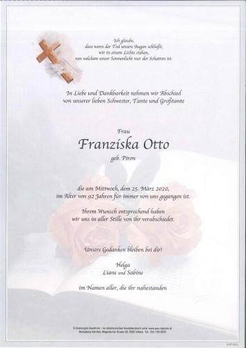 Franziska Otto