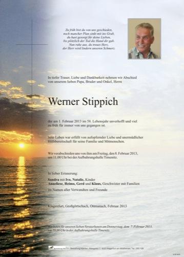 STIPPICH Werner