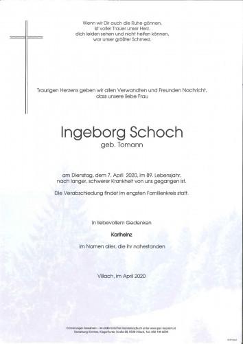 Ingeborg Schoch