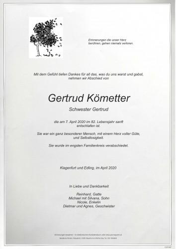Gertrud Kömetter