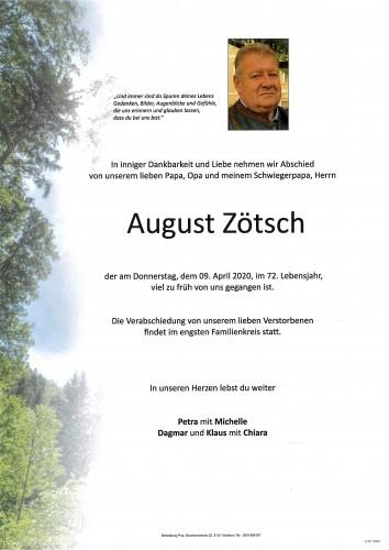August Zötsch
