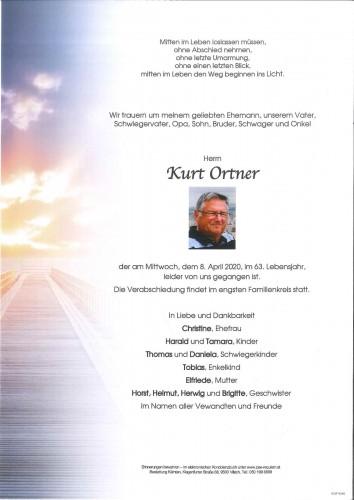 Kurt Ortner