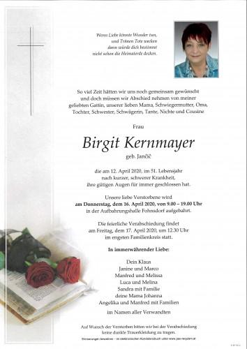 Birgit Kernmayer
