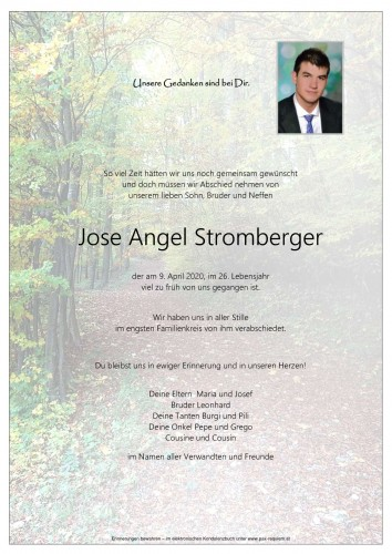Jose Angel Stromberger