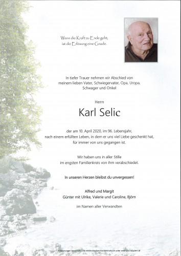 Karl Selic