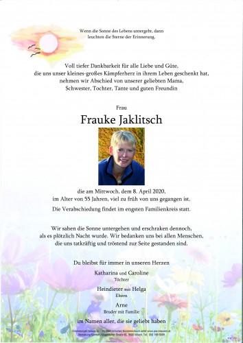 Frauke Jaklitsch