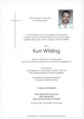 Kurt Wilding