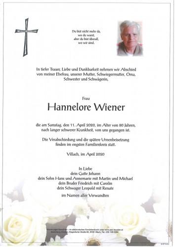 Hannelore Wiener