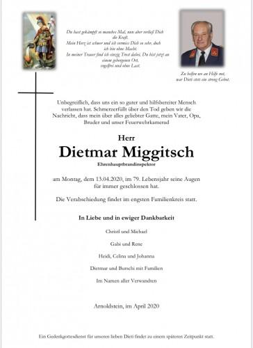 Dietmar Miggitsch