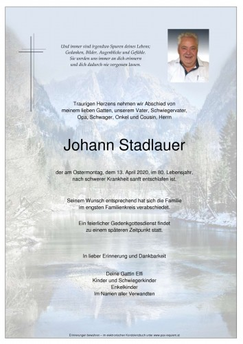 Johann Stadlauer