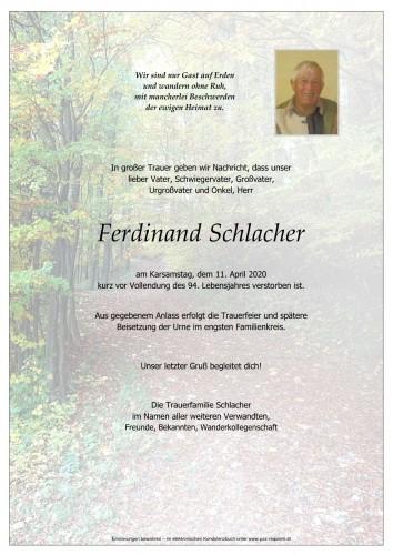 Ferdinand Schlacher