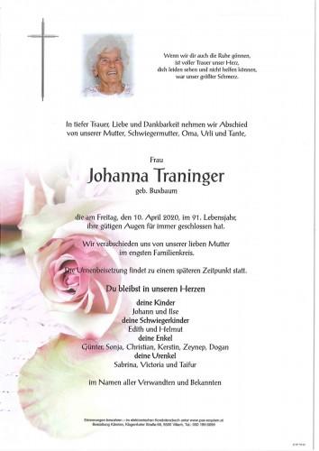 Johanna Traninger