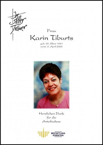 Karin Tiburts