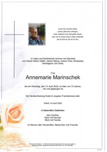 Annemarie Marinschek